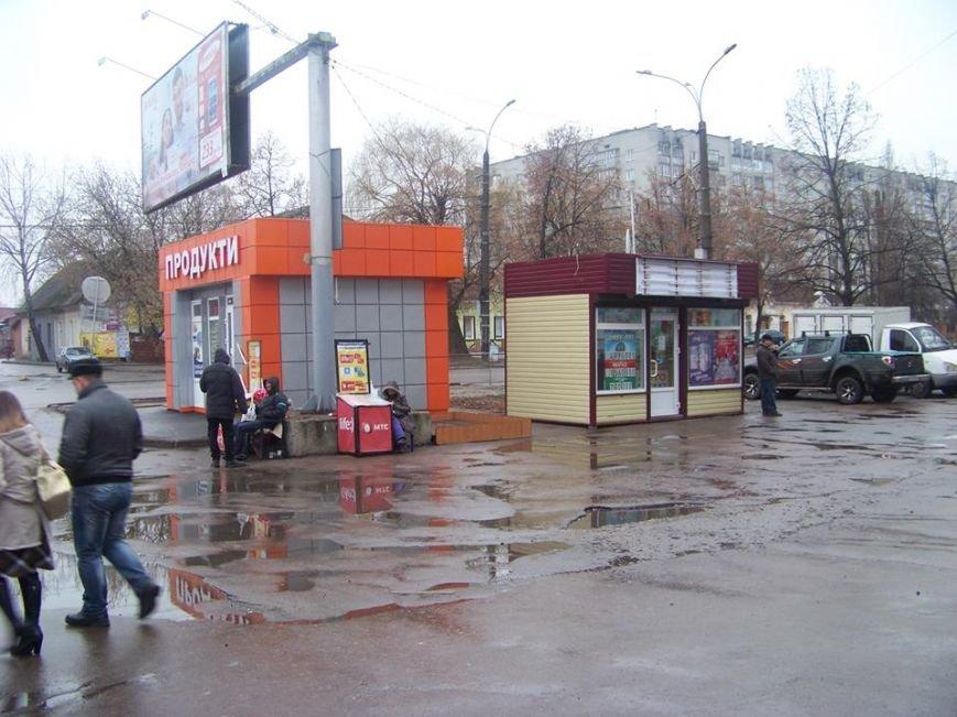 Черниговцы обвинили чиновника в показухе и указали какие киоски надо демонтировать (фото) - фото 1