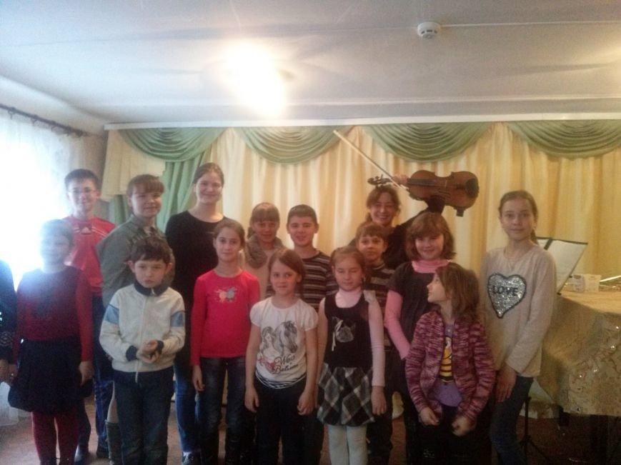 Феерическое выступление скрипачки Марины Бондас в музыкальной школе Авдеевки (ФОТО) (фото) - фото 1