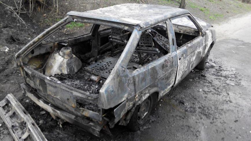 В Кировоградской области пожар уничтожил легковой автомобиль (ФОТО) (фото) - фото 1