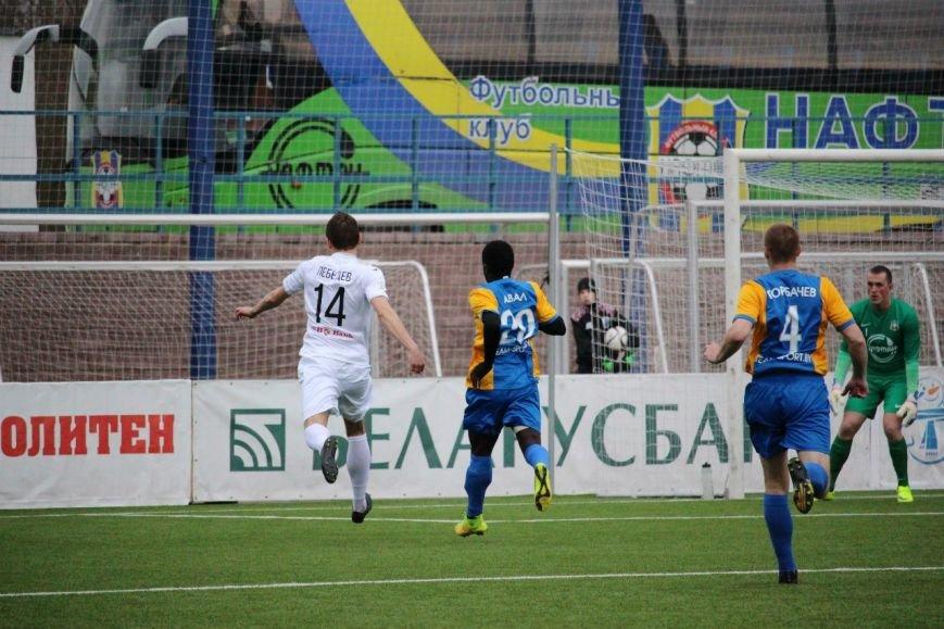 Футбол. «Нафтан» пропустил два безответных мяча от «Ислочи» в матче первого тура (фото) - фото 2