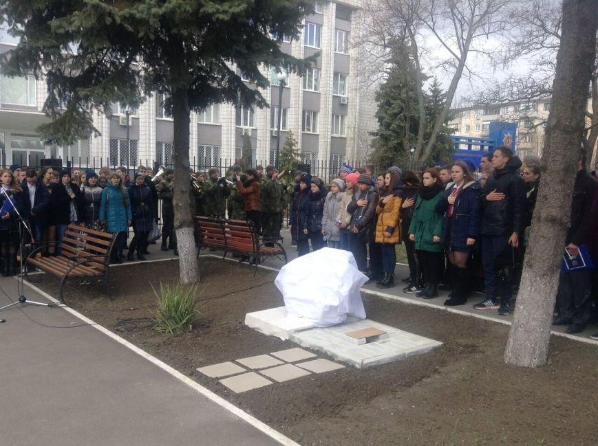 В Мариуполе юные полицейские заложили капсулу времени (ФОТО+ВИДЕО) (фото) - фото 1