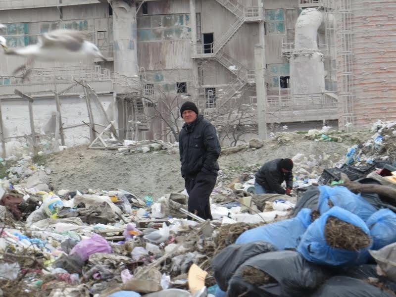 В Мариуполе на полигоне ТБО мусоровоз задавил бездомного (ФОТО), фото-7