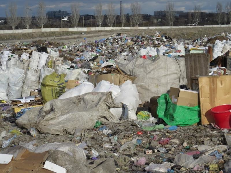 В Мариуполе на полигоне ТБО мусоровоз задавил бездомного (ФОТО), фото-10