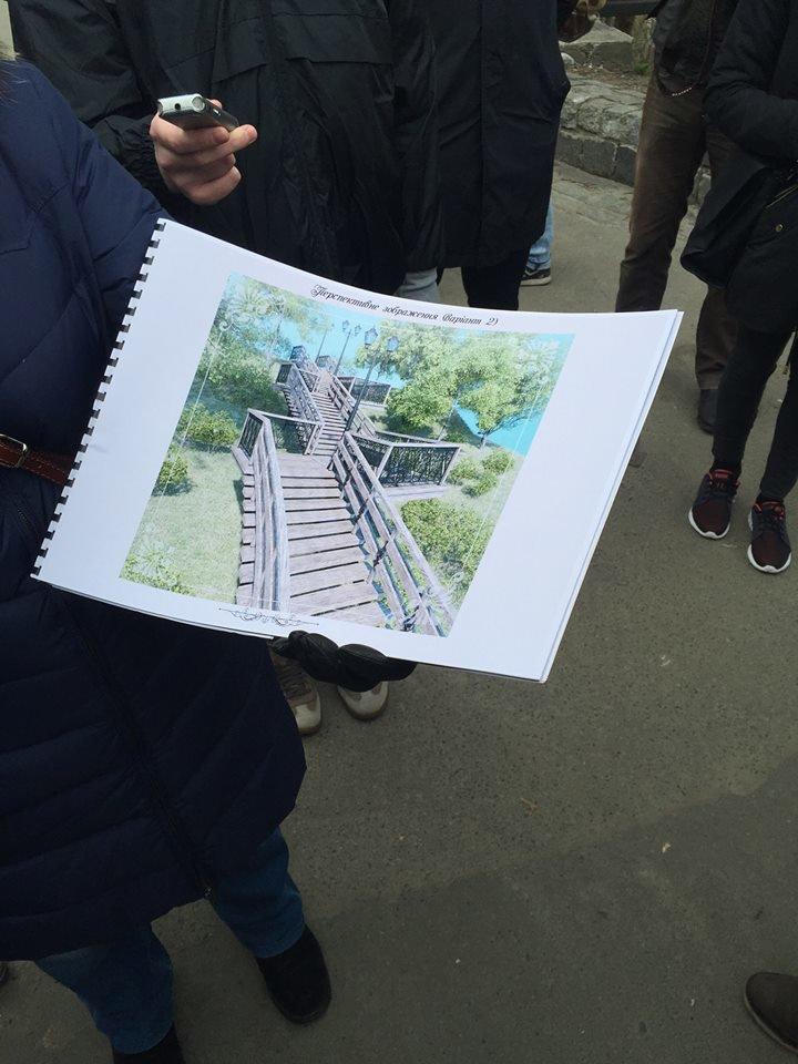 Стало известно, какой будет лестница на Пейзажной аллее после реконструкции (ФОТО), фото-1