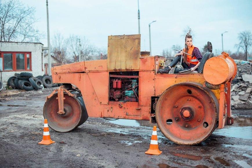 Черкаські красуні присвятили міським дорогам фотопроект (ФОТО), фото-4