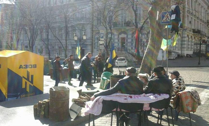 К участникам прокурорского майдана в Одессе добавились активисты из Винницы (ФОТО) (фото) - фото 1