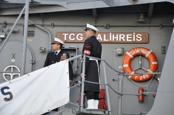 В Одессу пришли турецкие военные корабли (фото) - фото 1