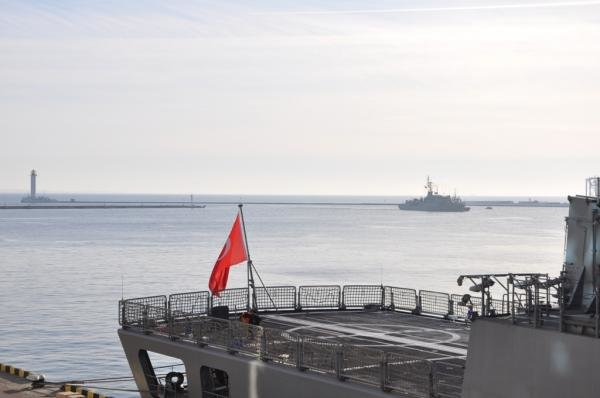 В Одессу пришли турецкие военные корабли (ФОТО, ВИДЕО) (фото) - фото 1