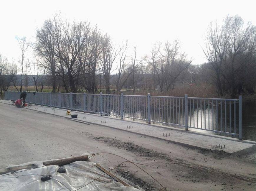 В Луганской области заканчивают ремонт моста через реку Айдар, фото-2