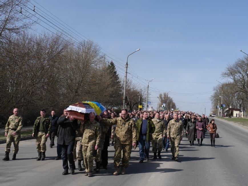 У Тернополі провели в останню путь військового лікаря Михайла Стасіва (Фоторепортаж) (фото) - фото 1