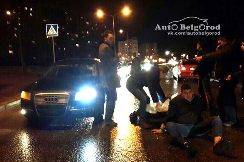 В Белгородской области мотоциклист-бесправник сбил пешехода (фото) - фото 2