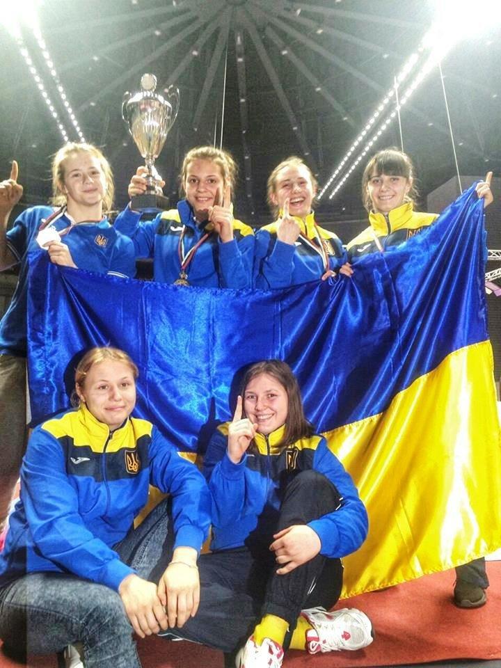 Спортсменки из Херсона стали призерами Чемпионата Европы по спортивной борьбе U-23 (фото) (фото) - фото 1