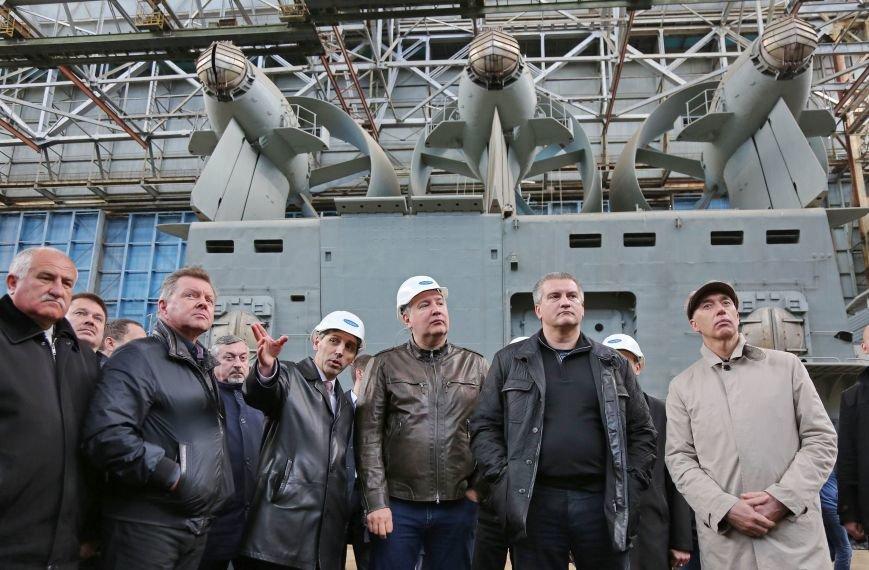Рабочая поездка вице-премьера Рогозина ускорит процессы в сфере ОПК Крыма, – Аксёнов (ФОТО) (фото) - фото 1