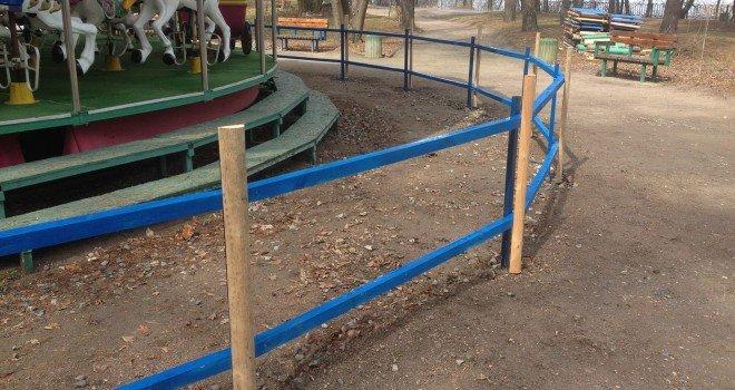 Карусель у парку Сосновий бір стане більш безпечною, фото-1