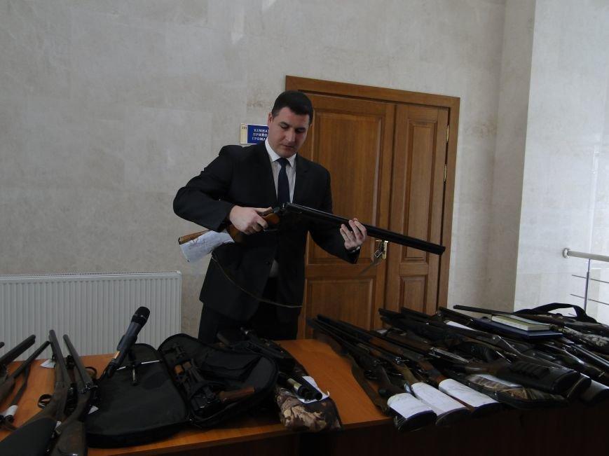 Мешканці Хмельницької області найчастіше добровільно здають мисливські рушниці (Фото) (фото) - фото 4