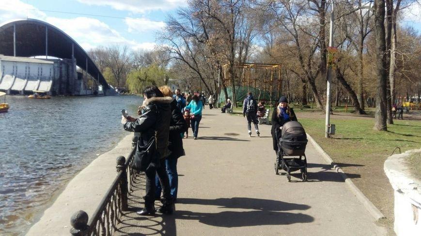 Выходные в Днепропетровске: как горожане наслаждались первыми теплыми днями апреля (ФОТО) (фото) - фото 11