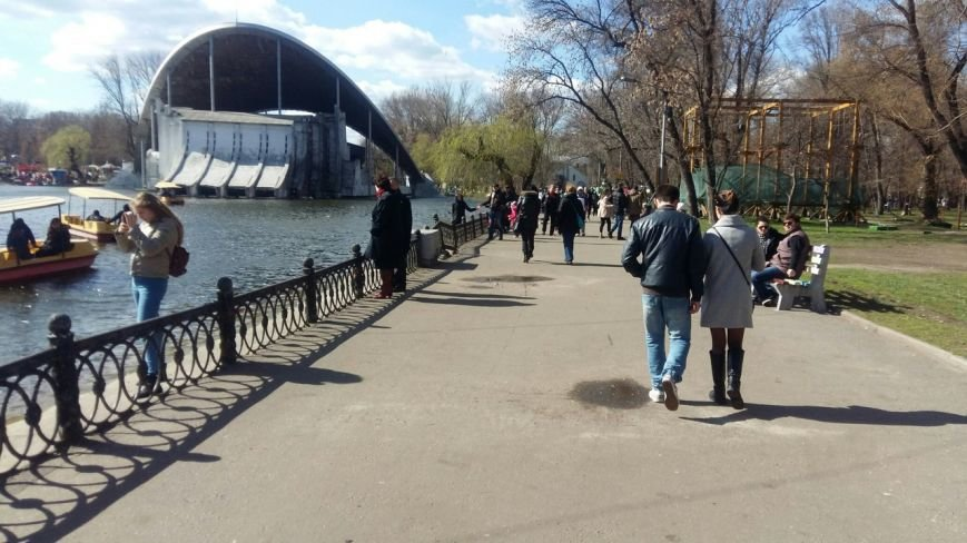 Выходные в Днепропетровске: как горожане наслаждались первыми теплыми днями апреля (ФОТО) (фото) - фото 16