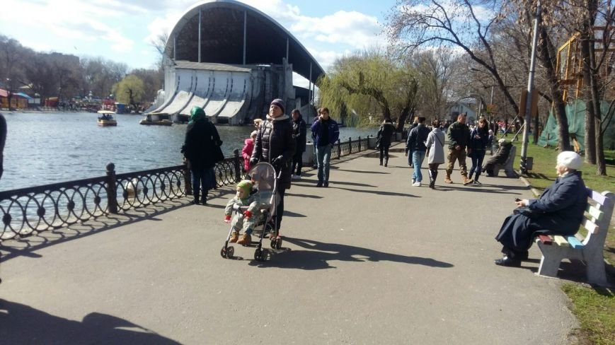 Выходные в Днепропетровске: как горожане наслаждались первыми теплыми днями апреля (ФОТО) (фото) - фото 12