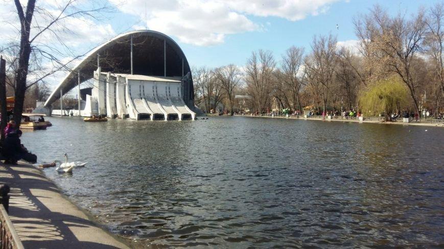 Выходные в Днепропетровске: как горожане наслаждались первыми теплыми днями апреля (ФОТО) (фото) - фото 7