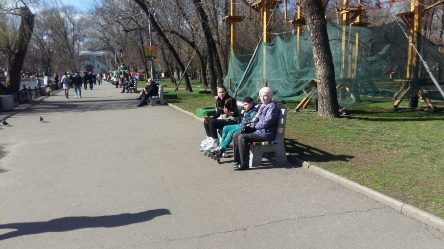 Выходные в Днепропетровске: как горожане наслаждались первыми теплыми днями апреля (ФОТО) (фото) - фото 15