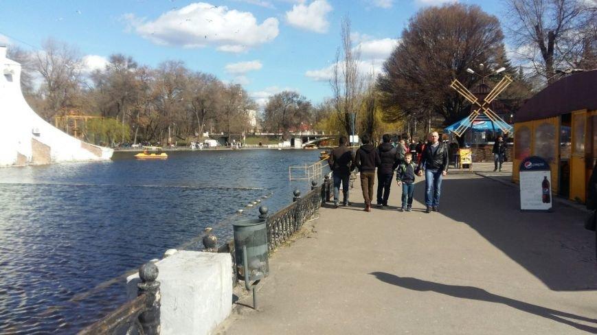 Выходные в Днепропетровске: как горожане наслаждались первыми теплыми днями апреля (ФОТО) (фото) - фото 1