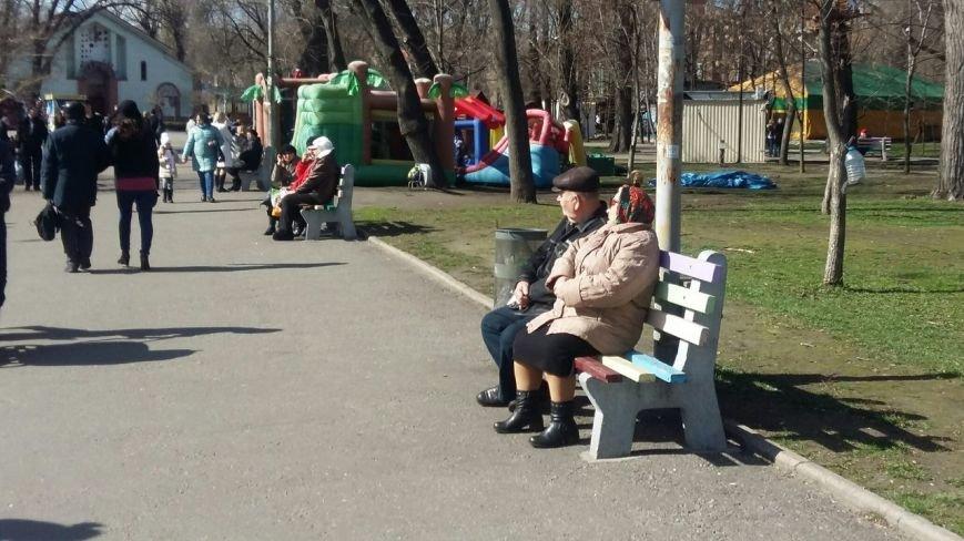 Выходные в Днепропетровске: как горожане наслаждались первыми теплыми днями апреля (ФОТО) (фото) - фото 9