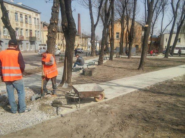 У Личаківському районі з'являться два нові сквери (фото) - фото 7