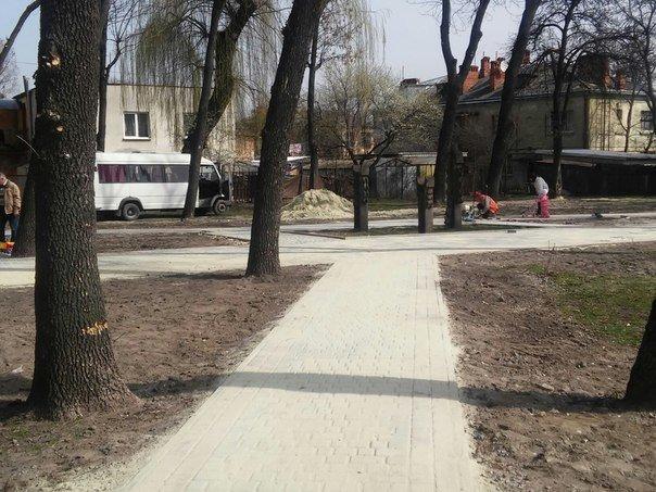 У Личаківському районі з'являться два нові сквери (фото) - фото 4