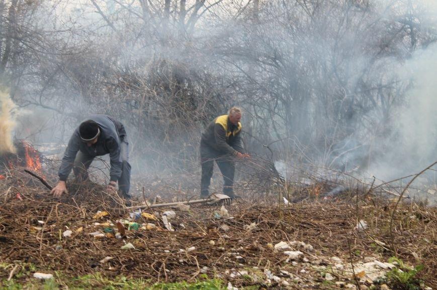 Жители Бахмута продолжают делать город чище (ФОТО), фото-4