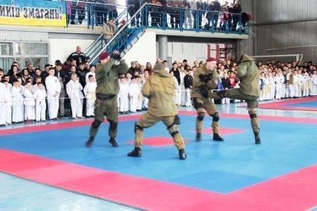 В Новой Каховке состоялся чемпионат по тхэквондо