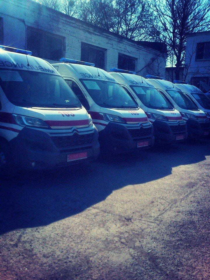 В Мариуполь прибыли  15 машин «Ситроен» для скорой помощи (ФОТО) (фото) - фото 1