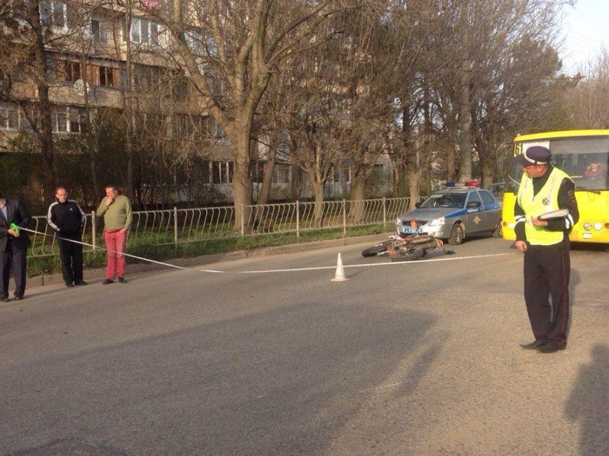 В Симферополе мотоциклист насмерть сбил пешехода на