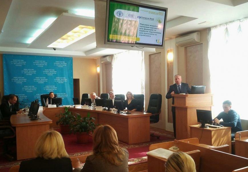 Перспективи для агроосвіти й агробізнесу: СНАУ та ФАО проводять круглий стіл у Києві, фото-4