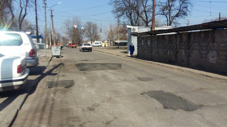 Ремонт дорог в Днепропетровске: за февраль и март на ямы положили 5 тысяч тонн асфальта (фото) - фото 3