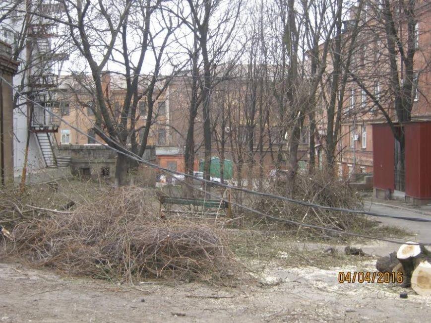 Коммунальные службы продолжают ликвидировать последствия шторма в Мариуполе (ФОТО), фото-4