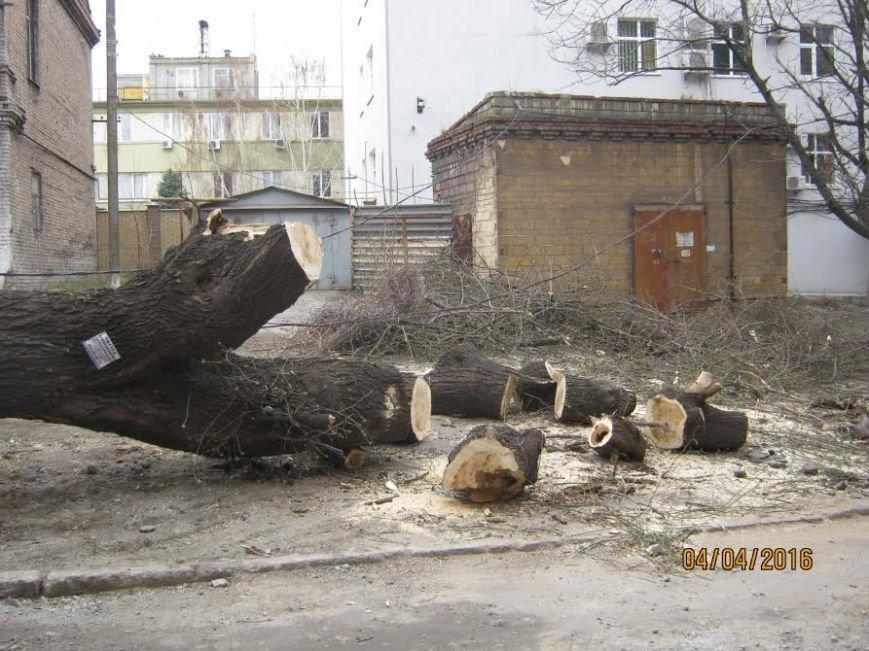 Коммунальные службы продолжают ликвидировать последствия шторма в Мариуполе (ФОТО), фото-1