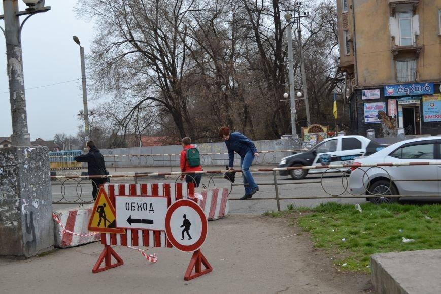 В Кривом Роге комиссиия  примет решение, в каком ремонте нуждается мост на Харитонова (ФОТО), фото-1