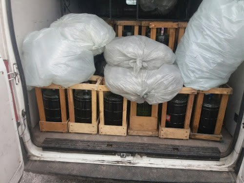 Вблизи Мариуполя задержан нелегальный алкоголь (фото) - фото 1