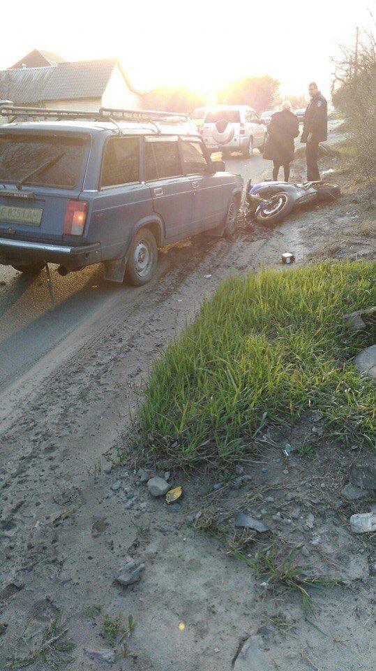 ДТП на Байкальской: из-за столкновения авто и мотоцикла пострадал мужчина (ФОТО) (фото) - фото 3