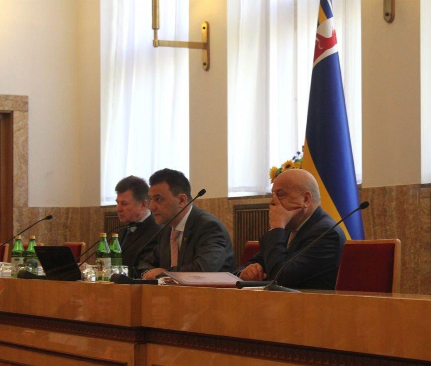 Сесія Закарпатської обласної ради у фото, фото-11