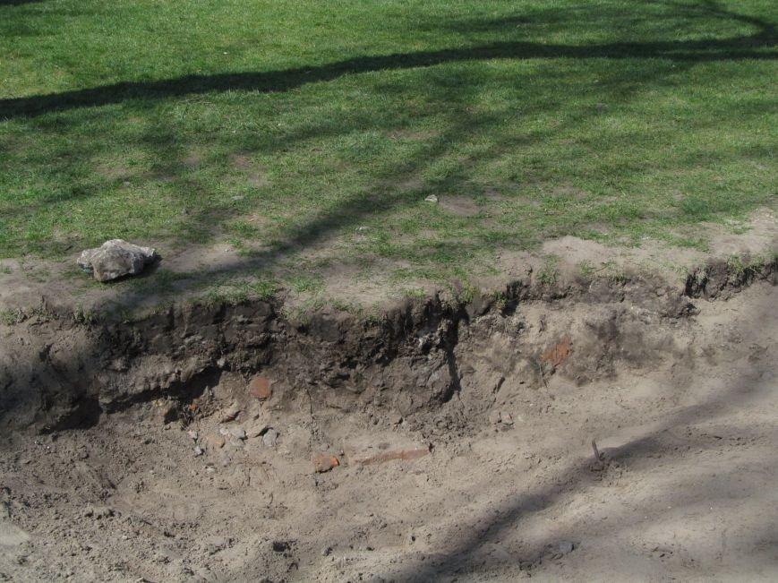 Разрушенный в сквере Бабаева газон восстановится только к осени (ФОТО), фото-1