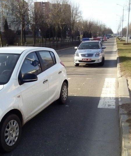 В Новополоцке женщина-водитель за рулем Hyndai сбила 9-летнего школьника (+фото), фото-1