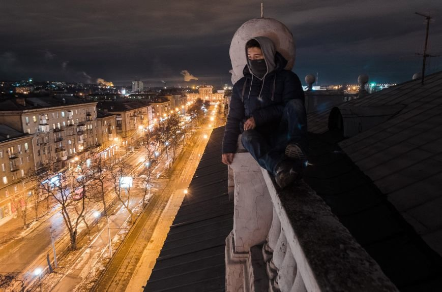 """20baceefaf01fce08db3e1406322274a Одесский руфер: """"Мы лазаем, что бы вы могли насладиться высотными пейзажами города с дивана"""""""