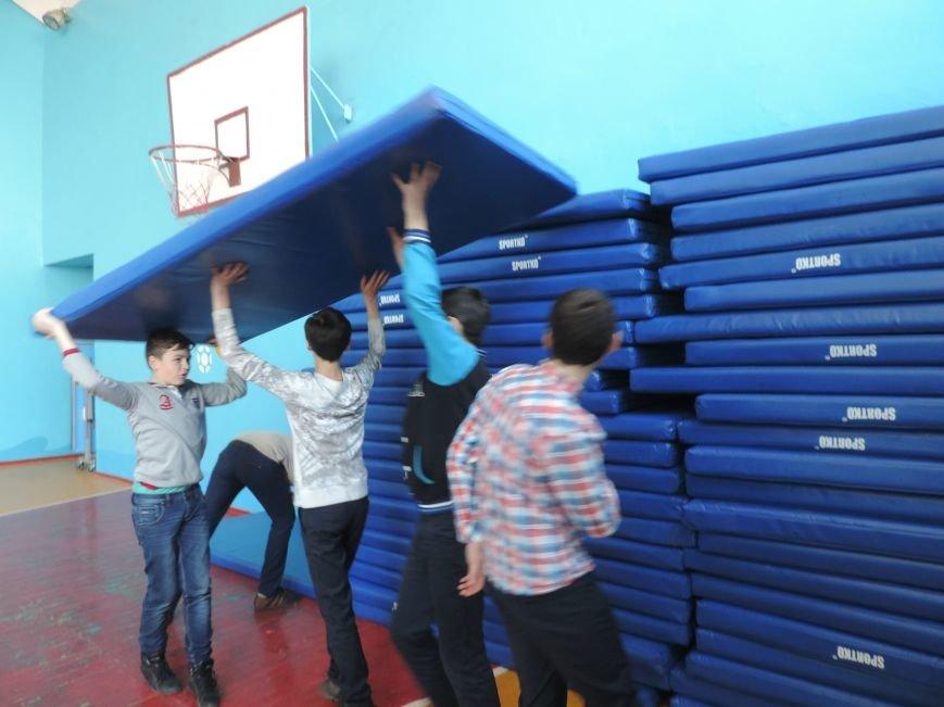 Город выделил средства на спортинвентарь для школ большого Доброполья (фото) - фото 1