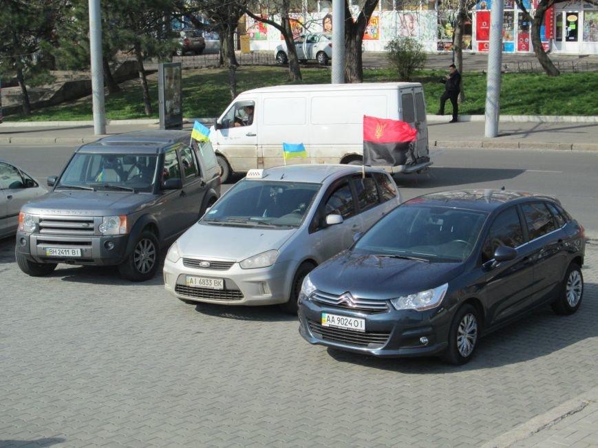 5e770e401f1269f0881132f6d1e97968 Митинг за рулем: одесситы устроили автопробег против Стоянова