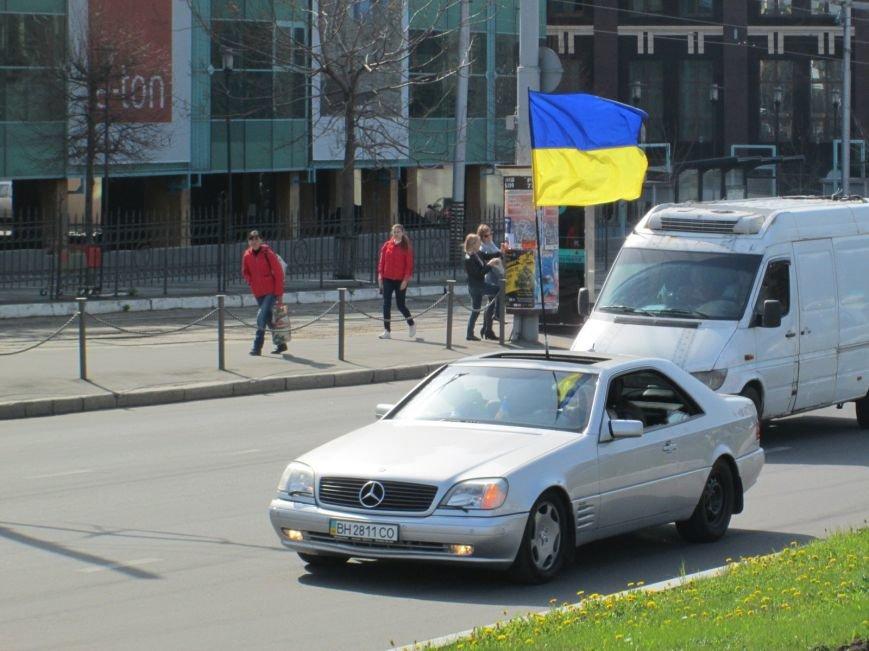 def173b6e0758b61cd8927e58f089216 Митинг за рулем: одесситы устроили автопробег против Стоянова