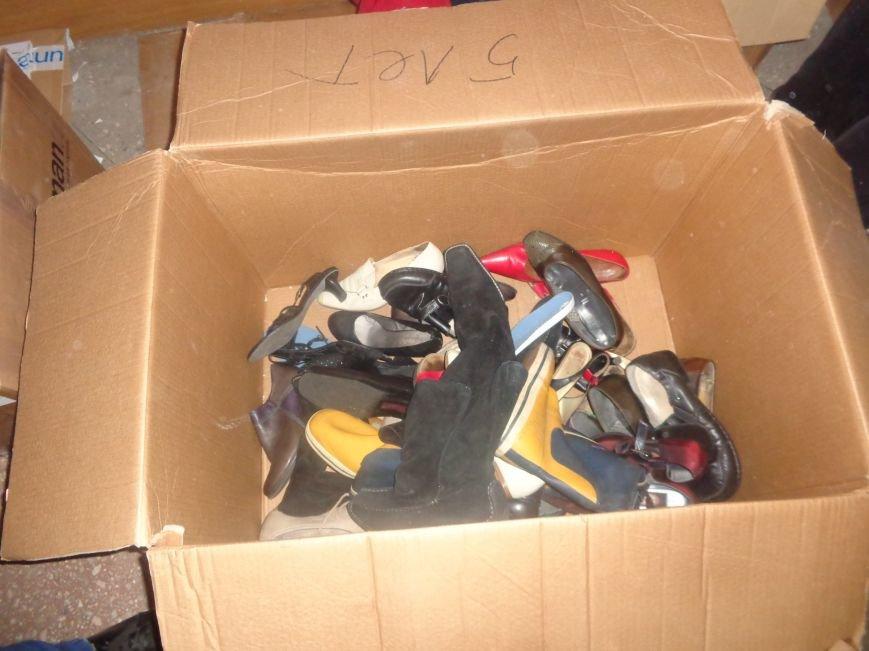 В Красноармейске начата выдача гуманитарной помощи в виде одежды и обуви из Германии (фото) - фото 1