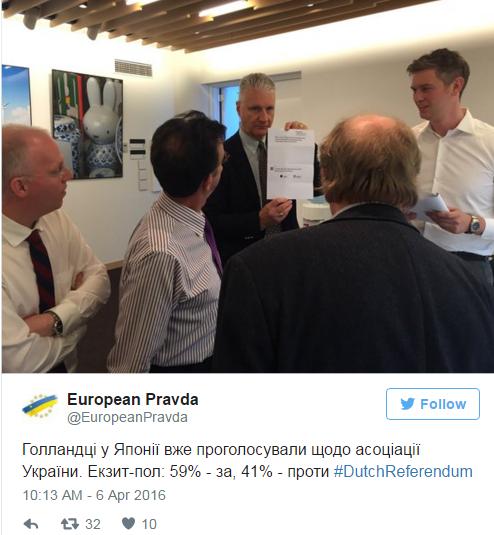 В Нидерландах проводят референдум по ассоциации Украина- ЕС: известны предварительные результаты (фото) - фото 1