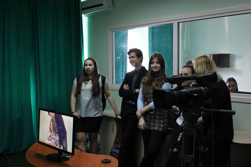 Як черкаські школярі стали ведучими Студентського телебачення (ФОТО), фото-1