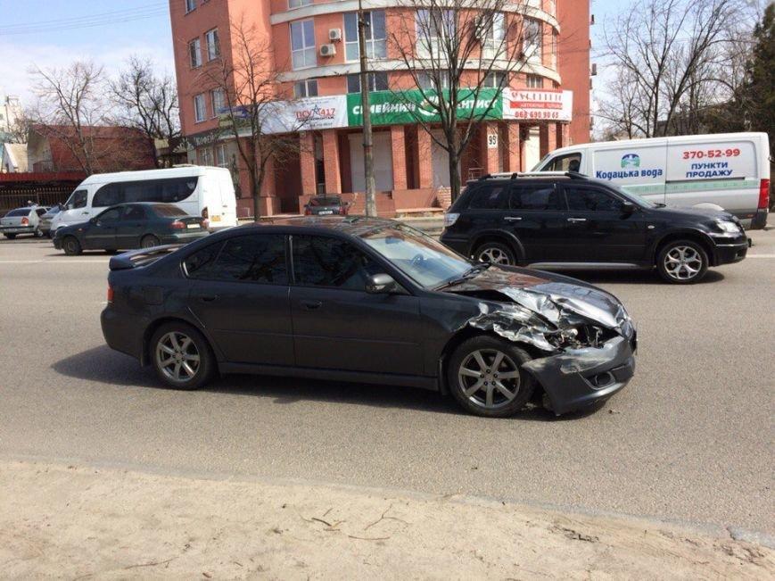ДТП на проспекте Гагарина: столкнулись два легковых авто (ФОТО), фото-3